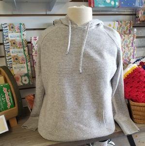 Athleta Cashmere Sweater Hoodie
